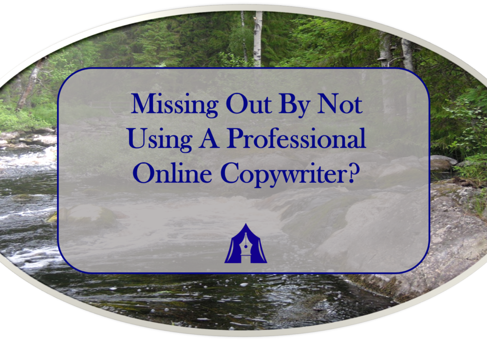 Missing Out By Not Using A Professional Online Copywriter?